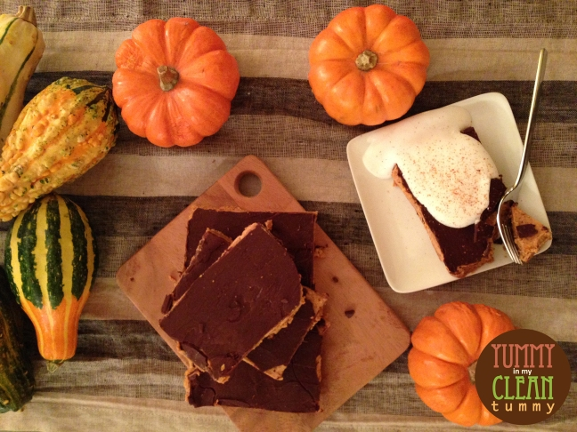 Pumpkin Mousse and Chocolate Bars | Yummy in my Clean Tummy