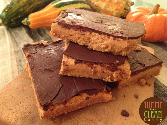 Pumpkin Mousse and Chocolate Bars 02
