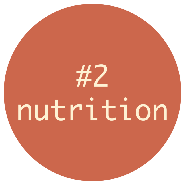 The Circle of Having a Clean Health Journey Step #2 -- NUTRITION