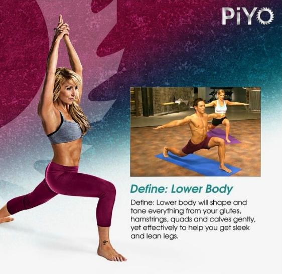 PiYo Define Lower Body   My 60 Days of PiYo   Yummy in my Clean Tummy