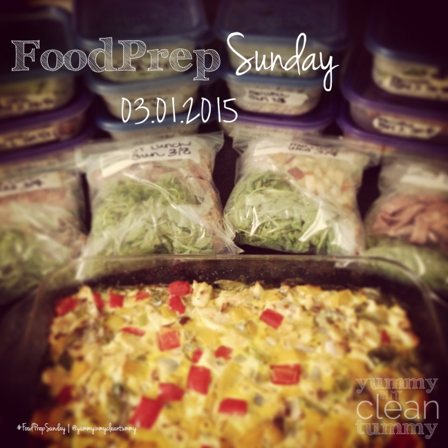 03-01-15 Food Prep Sunday | Paleo, Gluten Free, Organic Recipes | Yummy in my Clean Tummy